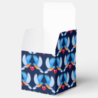 Bluebirds de caixas do favor de partido da