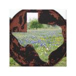 Bluebonnets de Texas Impressão Em Tela Canvas