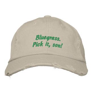 Bluegrass: Escolha-o, filho! Boné Bordado