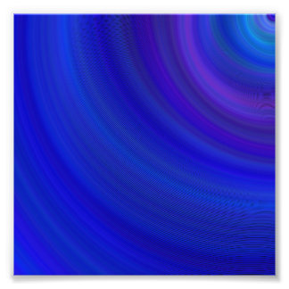 Blueness Impressão De Foto