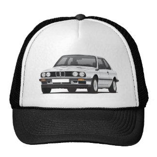 BMW de prata 3 séries (E30) Boné