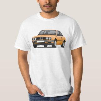 BMW E30 (3-series), ilustração, alaranjada Camiseta