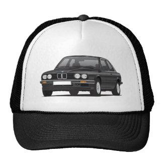 BMW preto 3 séries (E30) Boné