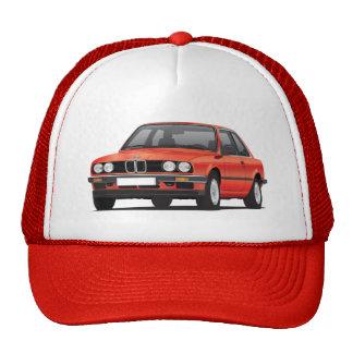 BMW vermelho 3 séries (E30) Boné