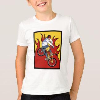 BMX arde o t-shirt Camiseta