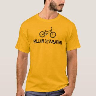 bmx caído da estrela camisetas