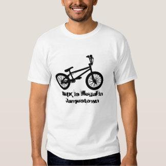 BMX é ilegal em Jamestown Camiseta