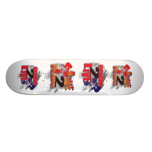 BMX vivem para montar o passeio para viver Skate