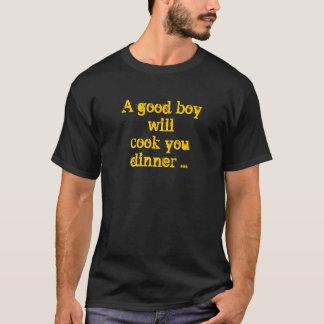 boa camisa do menino camisetas