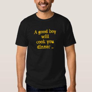 boa camisa do menino t-shirts