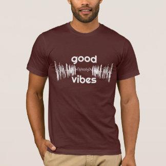 Boa camiseta das impressões