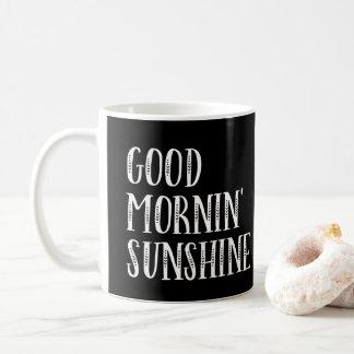 Boa caneca da luz do sol de Mornin