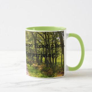 Boa caneca de café das citações do viajante (Lao