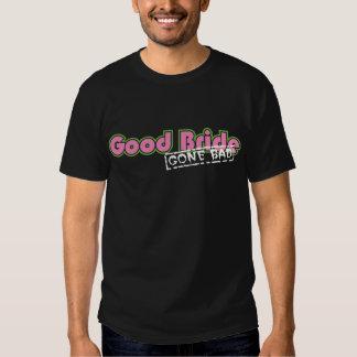Boa noiva ida má (camisa do menino) camisetas
