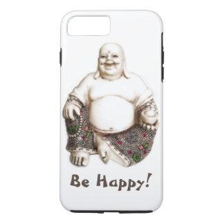 Boa sorte alegre de riso feliz Buddha Capa iPhone 7 Plus