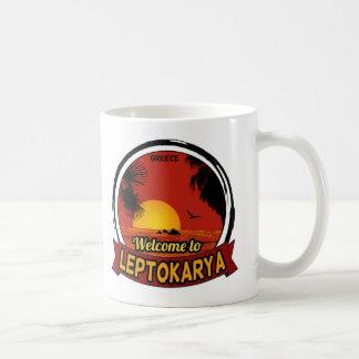 Boa vinda à caneca do clássico de Leptokarya
