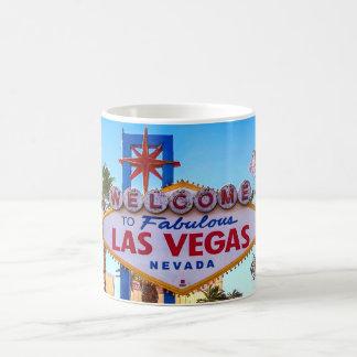 Boa vinda à caneca do sinal de Las Vegas