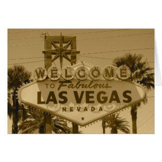 Boa vinda a Las Vegas fabuloso Cartoes