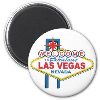 Boa vinda a Las Vegas fabuloso Imãs De Refrigerador