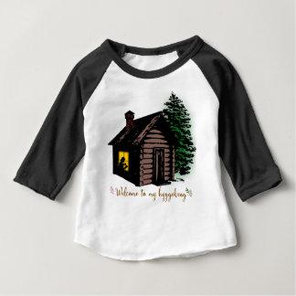 Boa vinda a meu Hyggekrog Camiseta Para Bebê