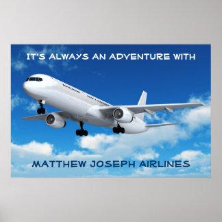 Boa vinda a minha sala! (Avião) Poster