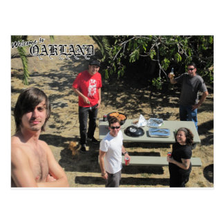 boa vinda a oakland cartão postal