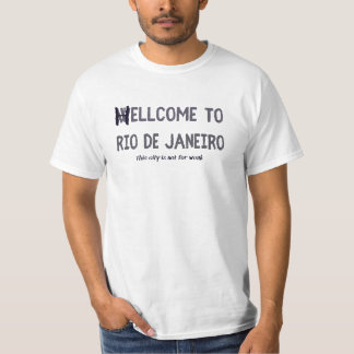 Boa vinda a Rio de Janeiro Camiseta