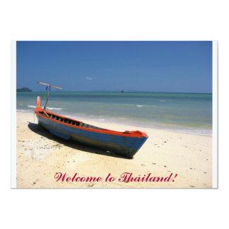Boa vinda a Tailândia!