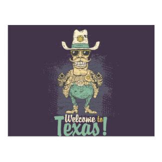 Boa vinda a Texas Cartão Postal