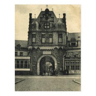 Boa vinda a uma cidade alemão cartao postal