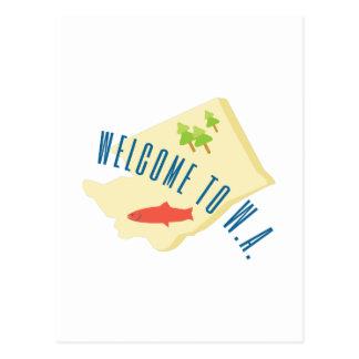 Boa vinda a WA Cartoes Postais