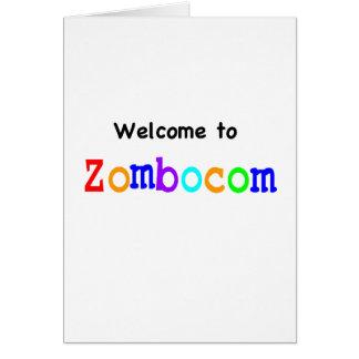 Boa vinda a Zombocom Cartões