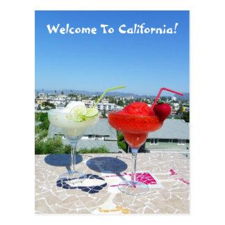 Boa vinda ao cartão de Califórnia! Cartoes Postais