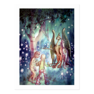Boa vinda ao cartão do Fairyland