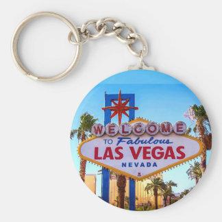 Boa vinda ao chaveiro do sinal de Las Vegas