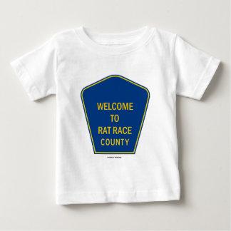 Boa vinda ao condado da competição desenfreada t-shirt