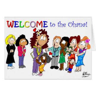 Boa vinda ao Ohana! Cartões