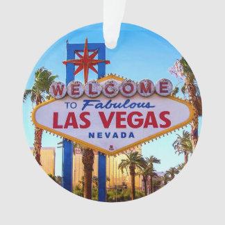 Boa vinda ao ornamento do sinal de Las Vegas
