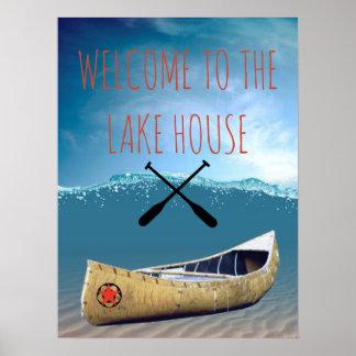 Boa vinda ao poster da casa do lago
