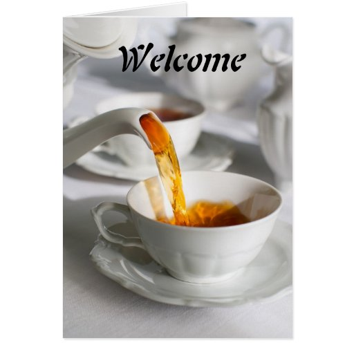 Boa vinda cartoes