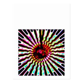 Boas festas arte da energia da faísca cartão postal