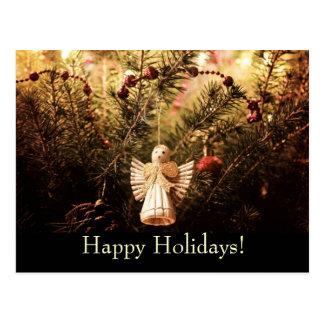 Boas festas - cartão cartão postal