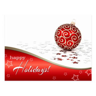 Boas festas. Cartão customizáveis do Natal