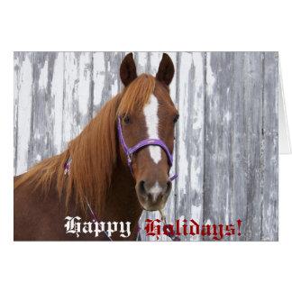 Boas festas cartão de Clifford