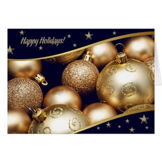Boas festas. Cartão de Natal customizável