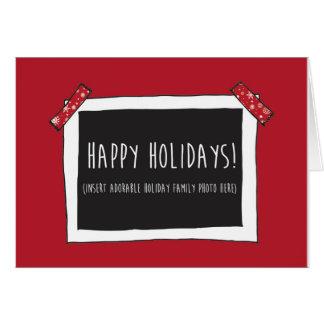 Boas festas cartão engraçado (foto da inserção
