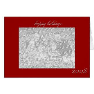 boas festas cartão feito sob encomenda da foto