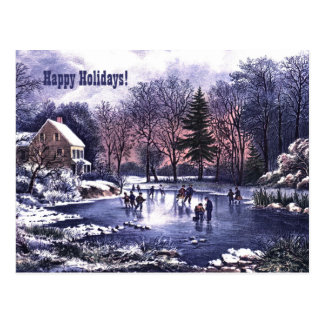 Boas festas. Cartões de Natal customizáveis