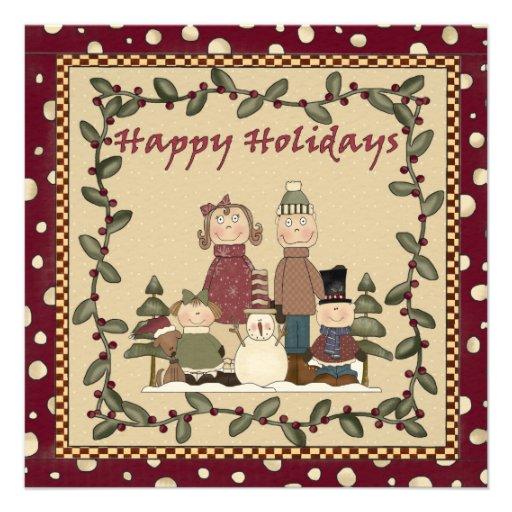 Boas festas convite da festa de Natal