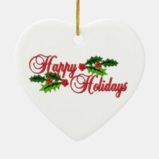 Boas festas enfeites de natal
